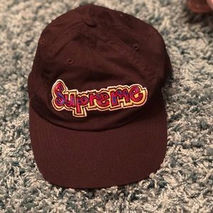 Black SUPREME hat